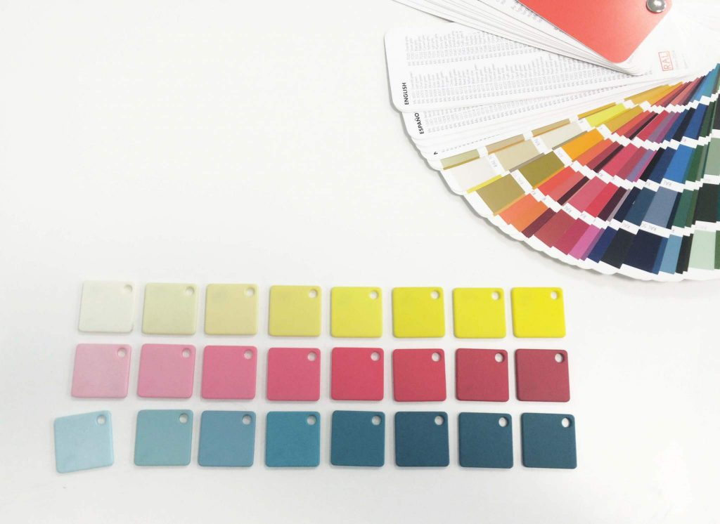 DyeMansion's USP so far is that they are able to develop every RAL/Pantone color on SLS parts. Image via: DyeMansion