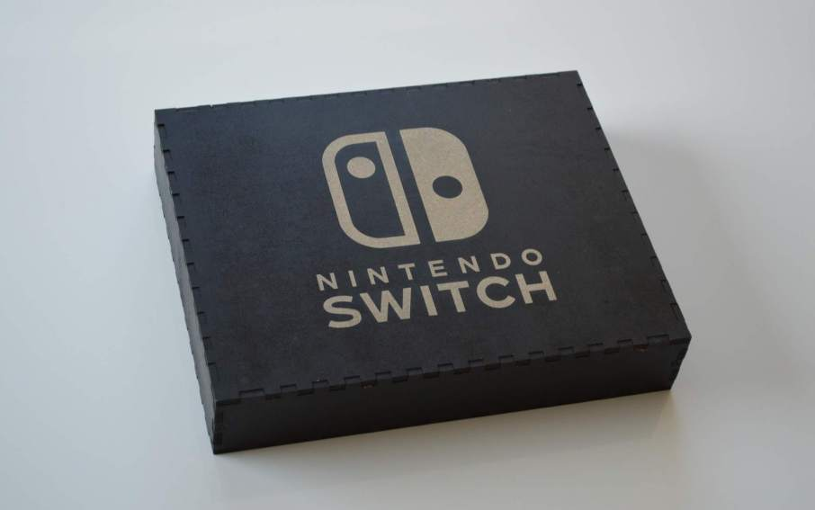 Sandqvist's impression of the Nintendo Switch box art.