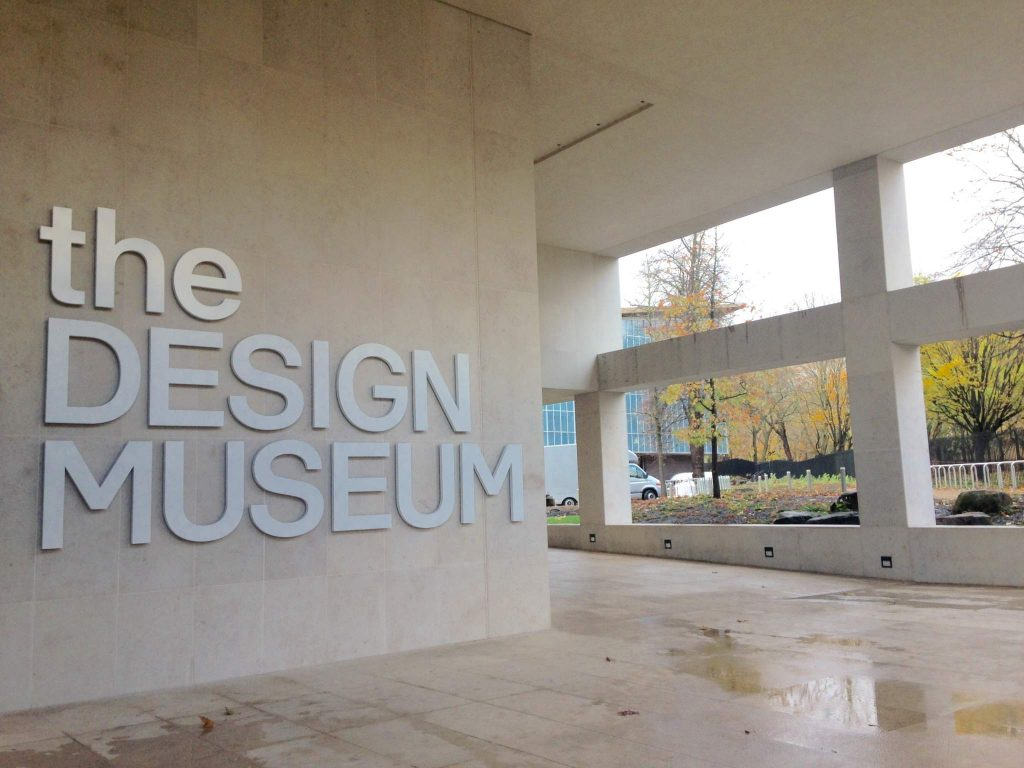 Entrance to the new Design Museum. Image via: Beau Jackson for 3DPI