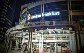 Messe Frankfurt hosts Formnext 2016. Photo by Michael Petch