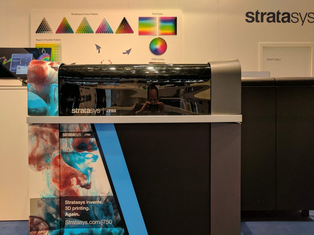 Stratasys as Formnext 2016.