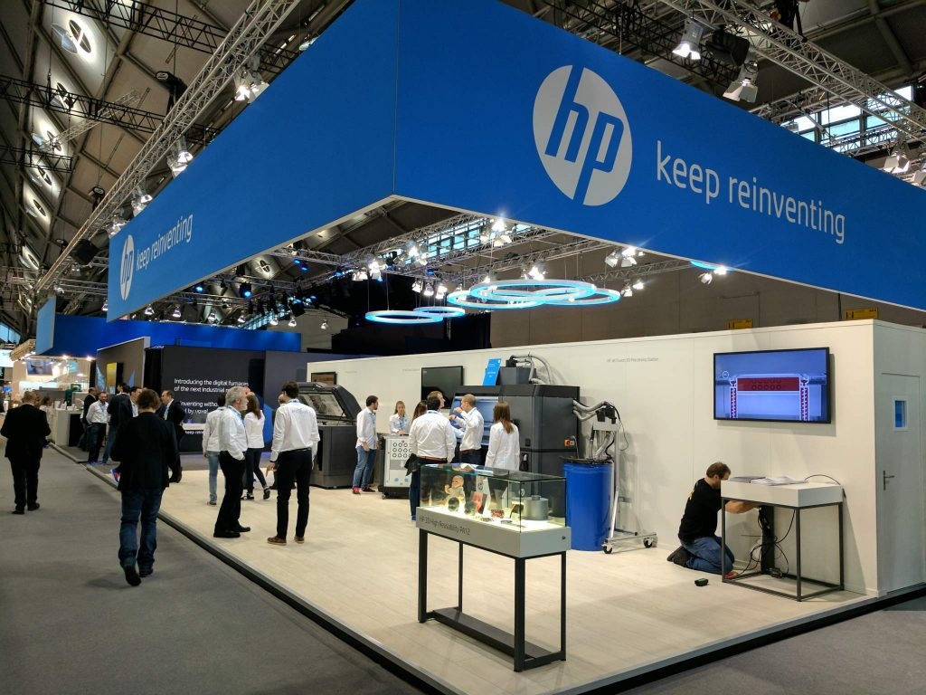 'Keep reinventing' HP at Formnext Image via: Michael Petch