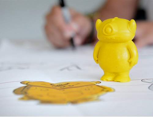 3D printing helps small start Monster Crayons raise funds