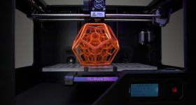 Print on the Makerbot Replicator 2 Via: Solidsmack