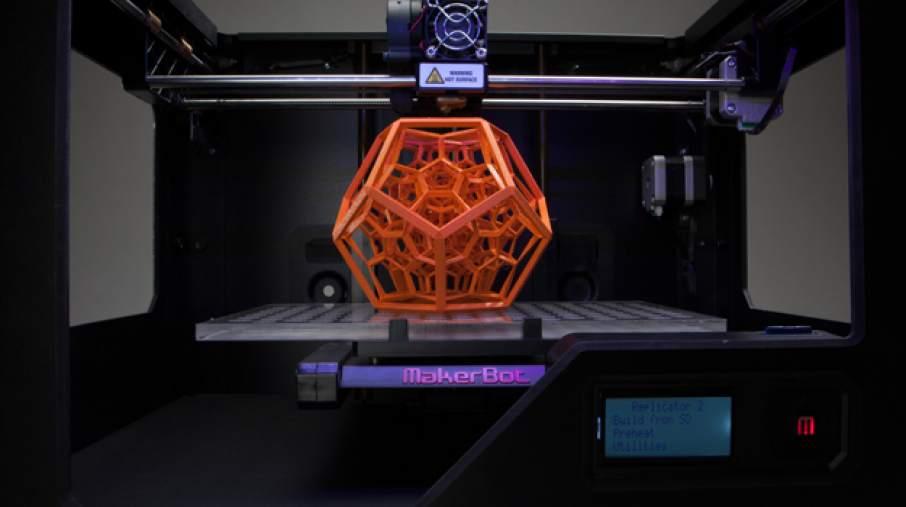 Print on the Makerbot Replicator 2 Via: Solidsmack