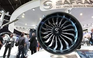 A Safran jet engine Image via: Getty