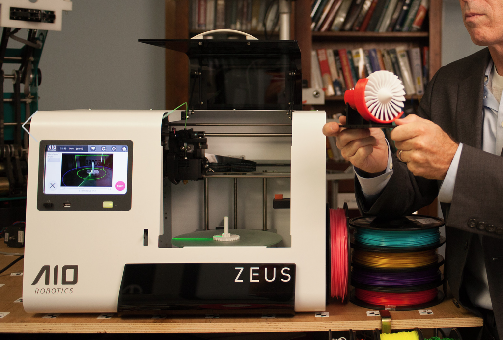 The ZEUS Infinity 3D printer. Image via: zeus.aiorobotics.com