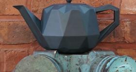Origami Teapot from Bre & Co. via: Bre & Co. LLC