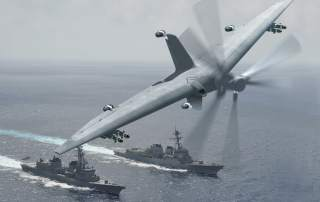 The TERN drone. Image via DARPA.
