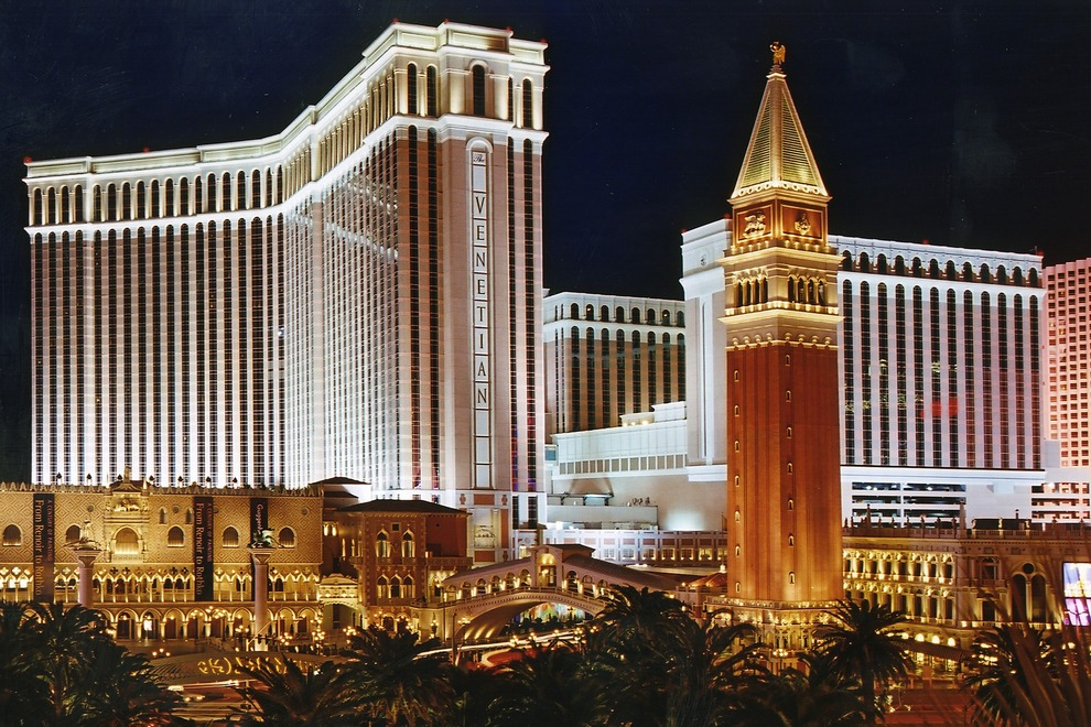 The Venetian Hotel. Image via The Venetian.