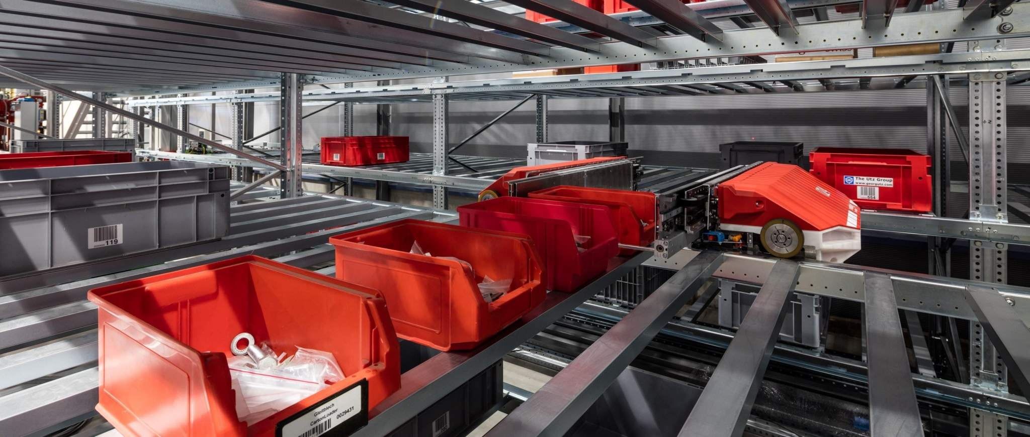 Swisslog's warehouse and distribution solutions. Image via Swisslog.