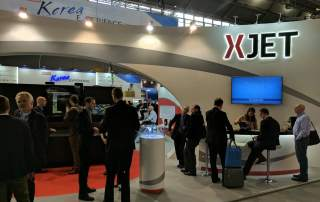 XJet Formnext 2016 booth photo by Michael Petch