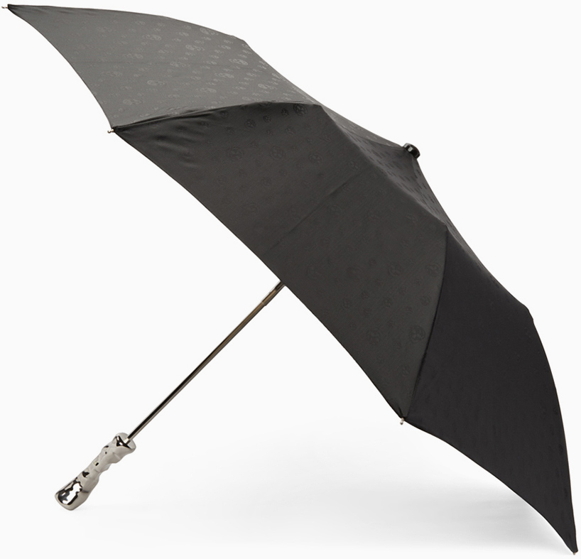 The Alexander McQueen hand imprint umbrella. Image via: VOJD studios