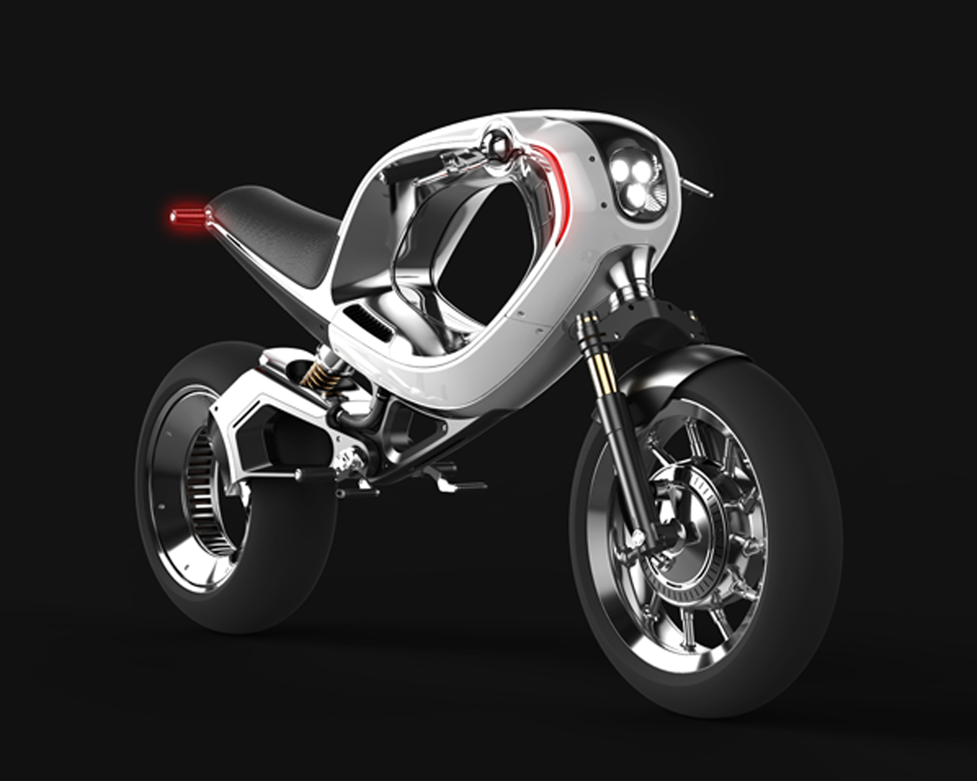 3D printing a whole electric bike is near. Image via: Frog Design