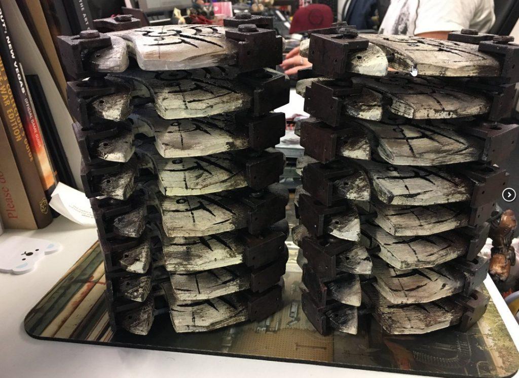 A big old pile of them Bone Runes. Photo via MyMiniFactory.