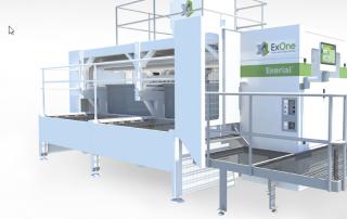 ExOne Industrial 3D printer.