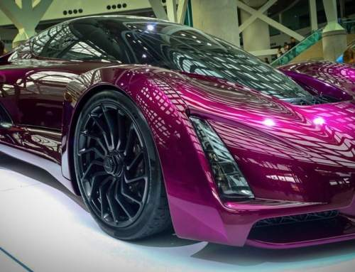 3D printing at The LA Auto Show: Divergent Blade and more