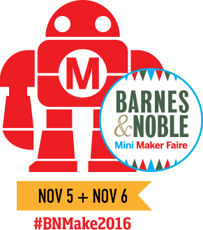 Barnes & Noble Mini MakerFaire. Image via: Barnes & Noble