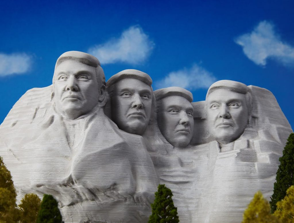 Mount Trumpmore by Rigid Ink. Image via MyMiniFactory