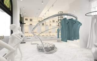 3D designed Australian clothing rack