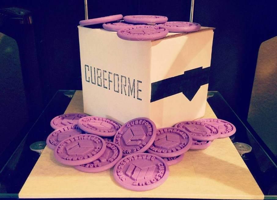 Cubeforme September 2016 box