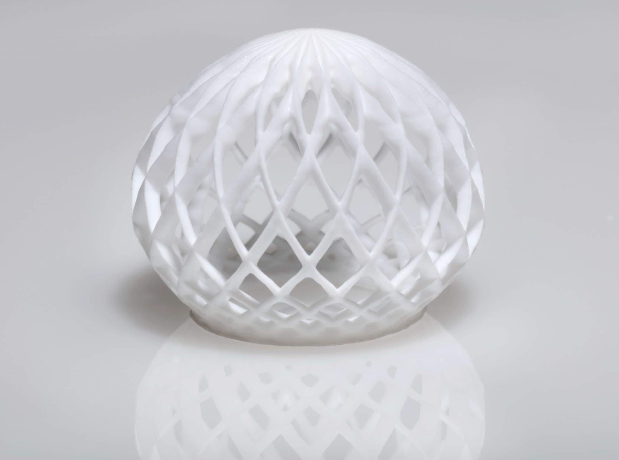 An example of a complex structure 3M are able to produce using fluoropolymers. Image via 3M.