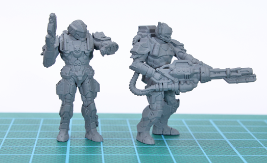 Gargantuan image intended for free 3d printable miniatures