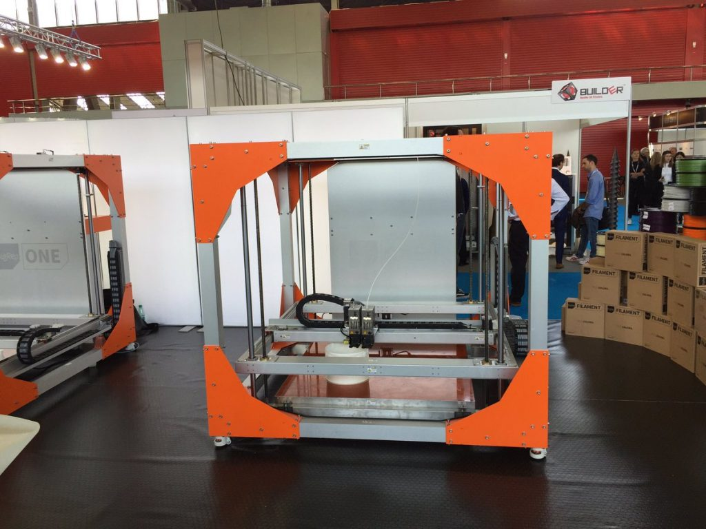 BigRep 3D printer at AM Europe 2016. Photo by: Aric Rindfleisch on Twitter