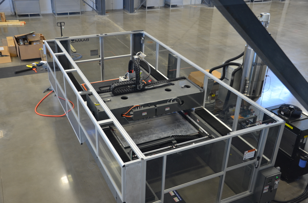 The large-scale additive manufacturing machine AES will be acquiring. Image via Cincinnati Inc.