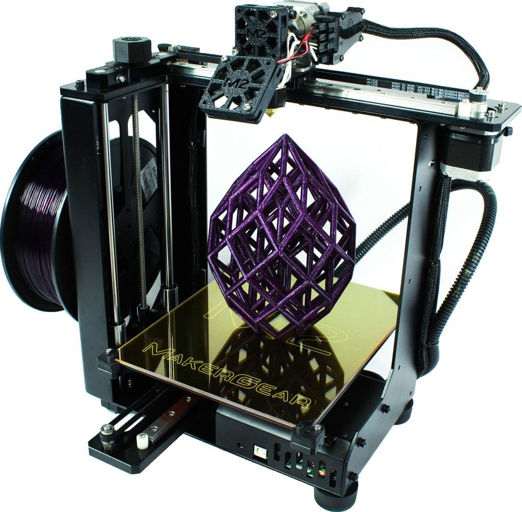 The MakerGear M2 assembled 3D printer typically retails at $1,825 Photo via: makergear.com