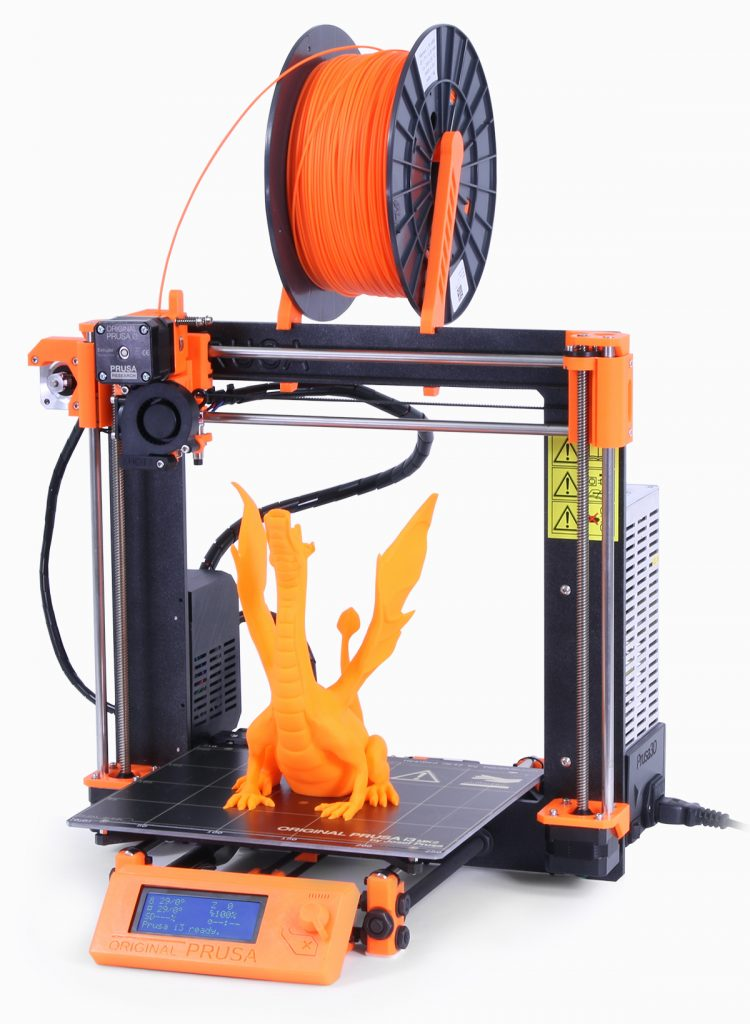 A Prusa3D MK2 3D printer. Photo via: Prusa3D