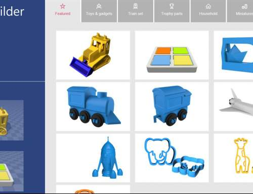 Microsoft release 3D builder app for Windows phones