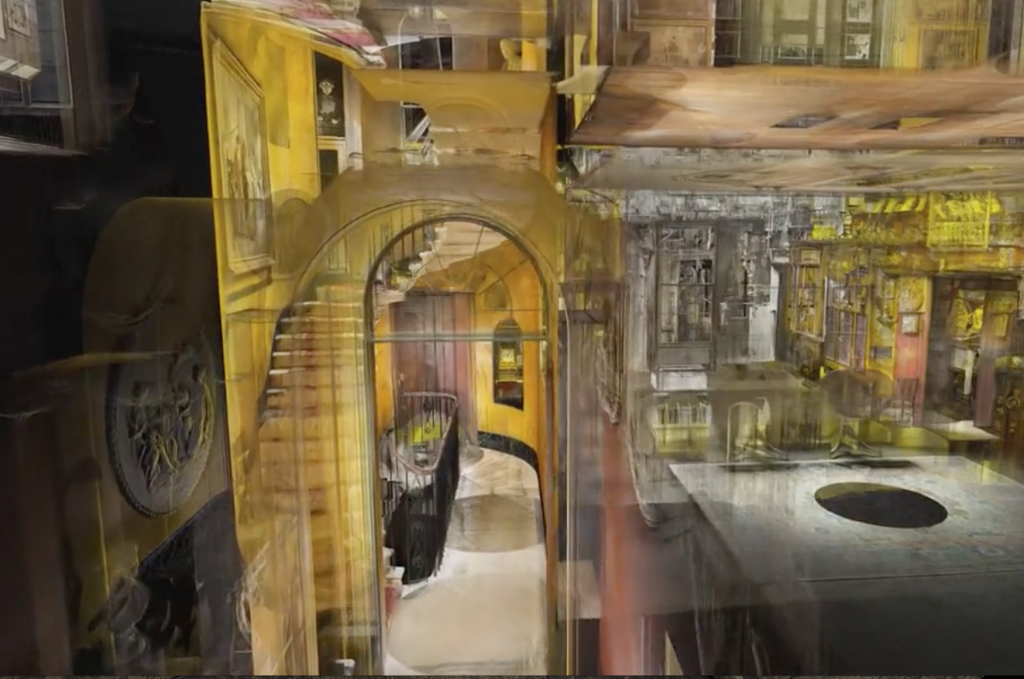 Inside the Digital Sir John Soane's Museum. Screenshot via: explore.soane