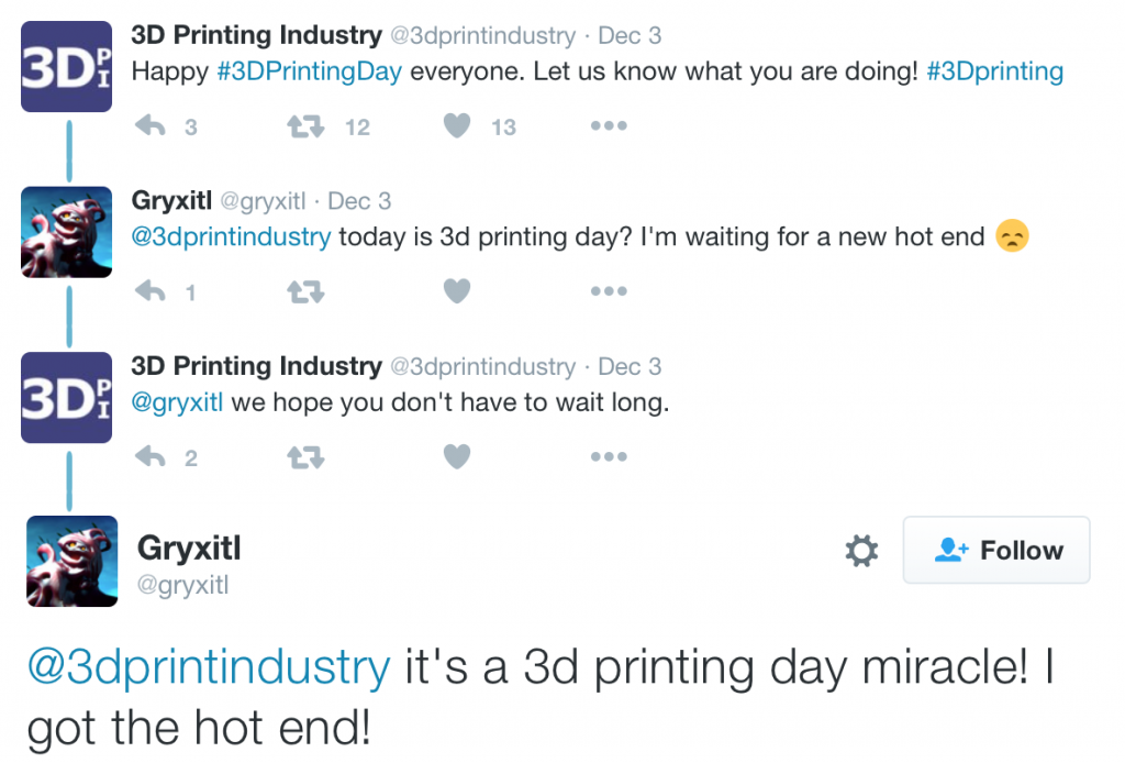 A heart warming story by 3Dprintindustry and Gryxitl on Twitter