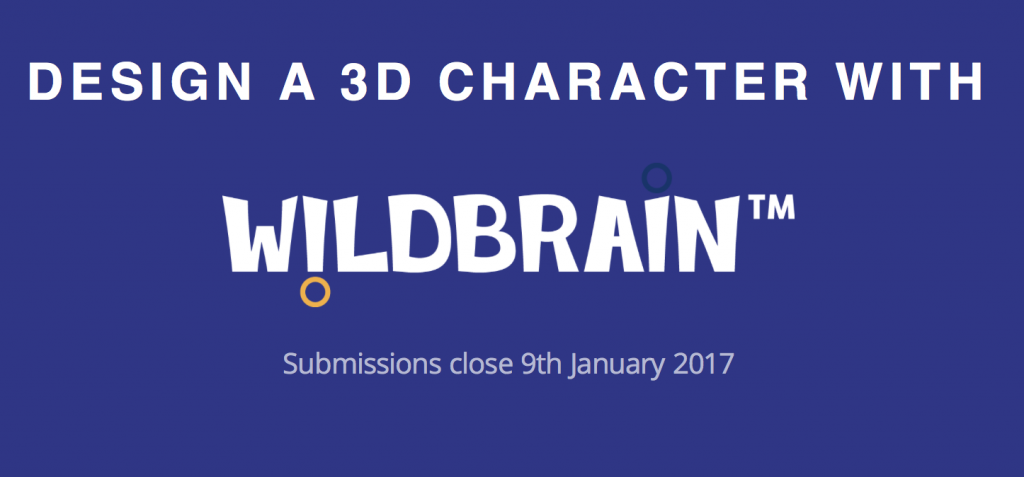 Screenshot of the WildBrain competition logo, taken via the competition page.