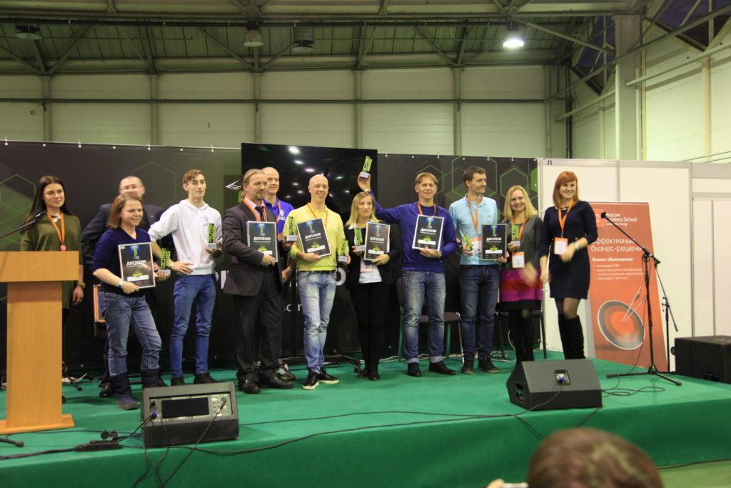 The Thor3D team accepting their award. Image via Thor3D.