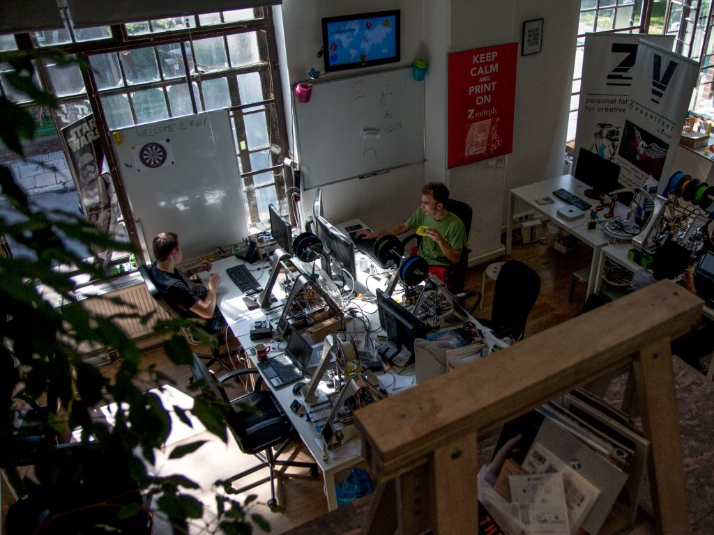 ZMorph's Office. Photo via ZMorph.