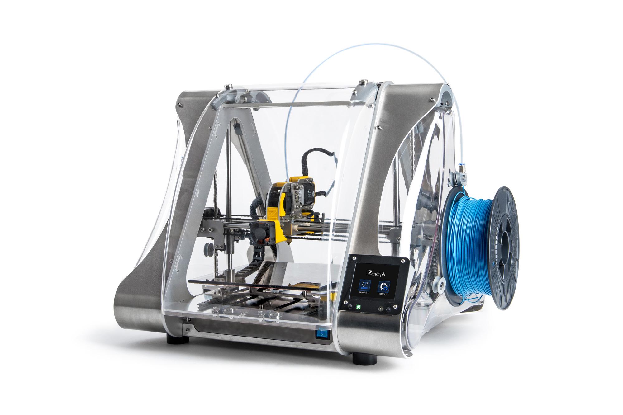 The ZMorph 2.0 SX multitool 3D printer. Image via ZMorph.