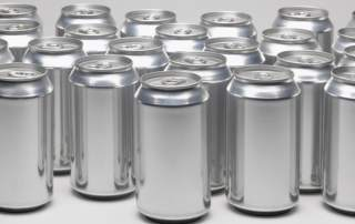 Aluminum cans. Photo via: gundersenenvision on Wordpress