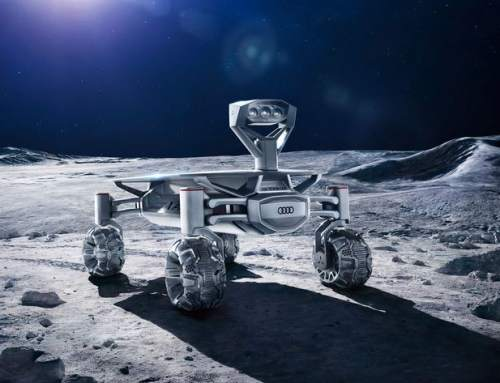 Audi move closer to putting a 3D printing microwave on the moon.