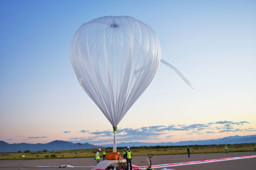 Going UP! Southwest Research Institute (SwRI) test a World View balloon that reached a peak altitude of just over 19miles Photo via: worldview.space