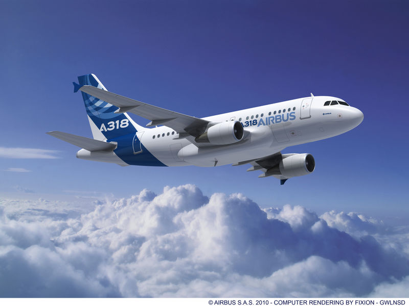 The Airbus A320. Image via Airbus.