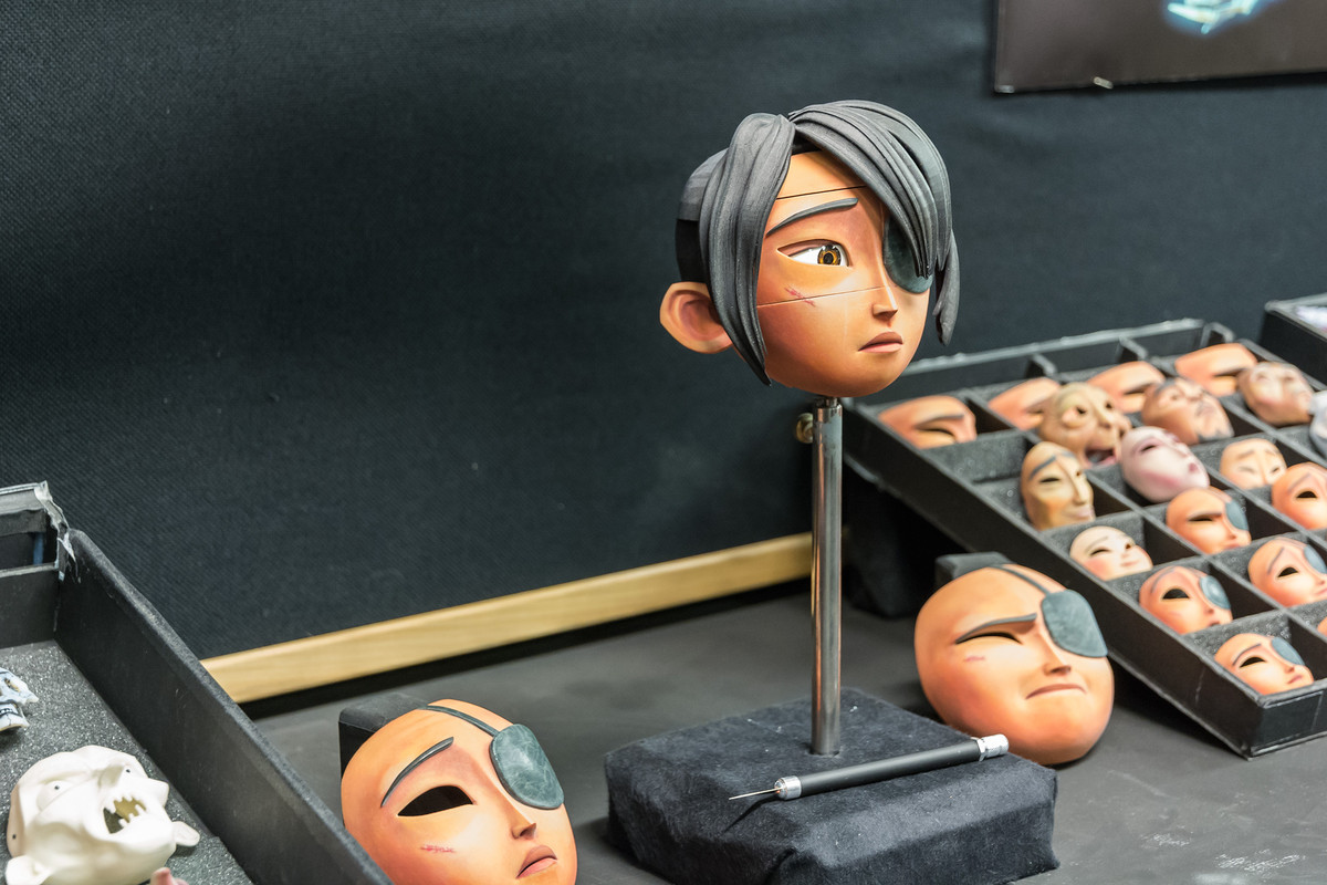 The character of Kubo in his many 3D printed forms. Photo by Ryan Waniata for Digital Trends.