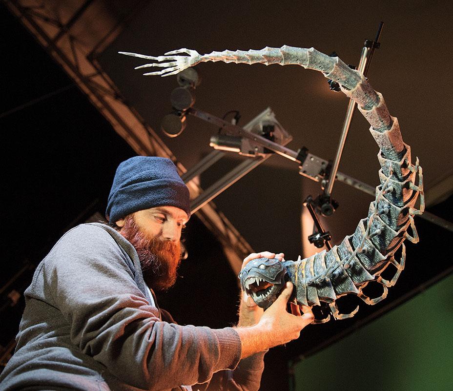Laika's first fully 3D printed puppet. Photo via John Leonhardt | Laika Studios / Focus Features.
