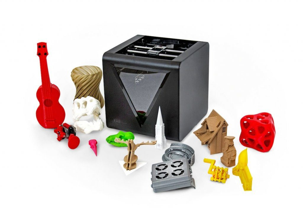 The new FABtotum CORE multitool 3D printer. Photo via: csp-world
