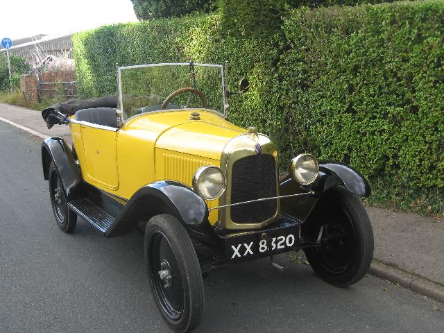 A classic 1925 model of the Cloverleaf Citroën C2. Photo via: classicandsportscar.ltd.uk