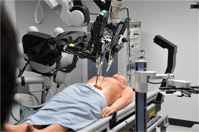Robotics are widely used in medical world. Photo via WiredCosmos