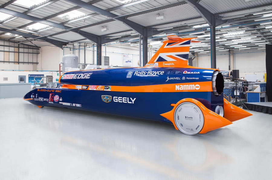 Innovate UK has contributed fund to the meticulously designed British Bloodhound SSC project. Tipped as the latest car on land, the Bloodhound uses some 3D printed components to achieve its dynamics. Image via Autocar.
