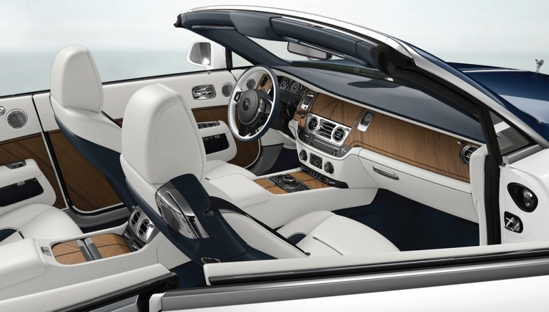 The Nautical Dawn interior. Image via: Rolls-Royce