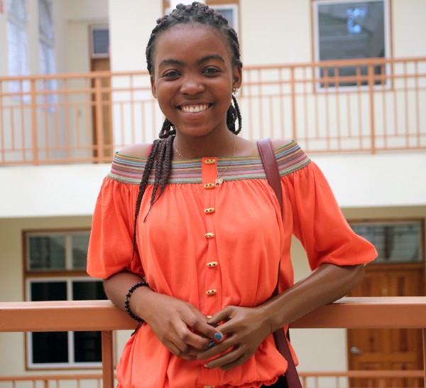 Ebewelleda poses with her arm. Photo via ECF.